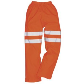 Portwest RT61 Orange Breathable Waterproof Trousers
