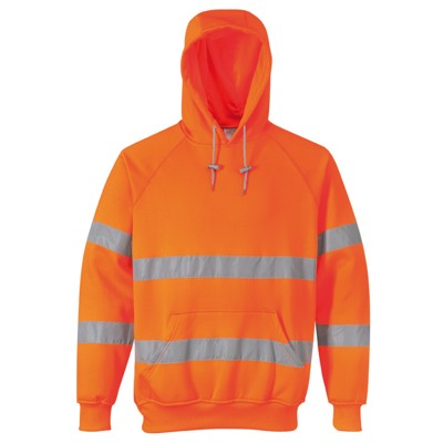 Portwest B304 Hi Vis Hooded sweatshirt