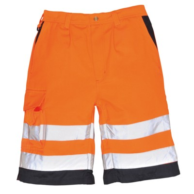 Portwest E043 Hi Vis Poly-cotton Shorts