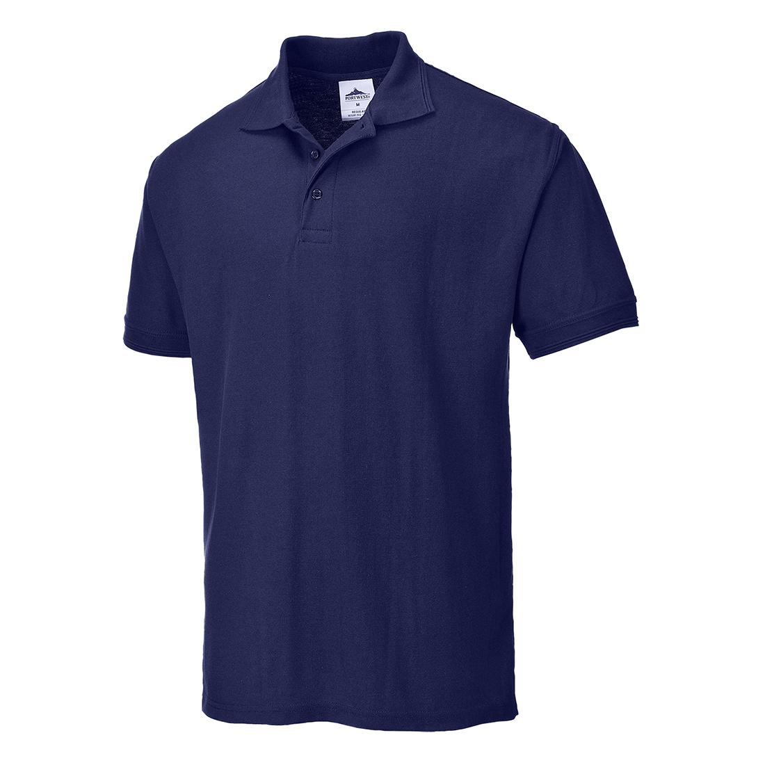 Portwest B210 Naples Mens Work Polo Shirt Polycotton Uniform Corporate Workwear