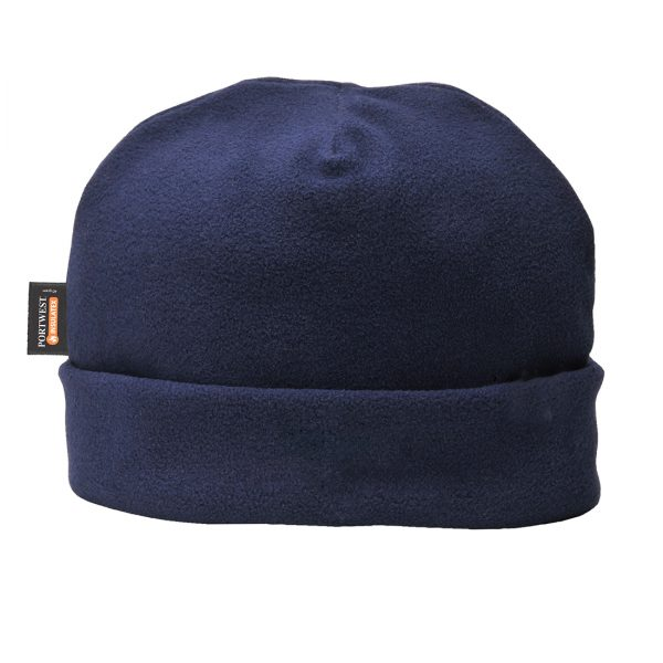 lined fleece hat