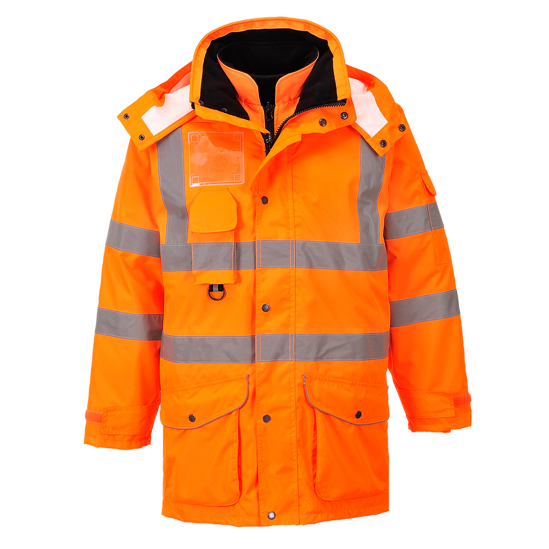 244df508 Portwest RT27 7 in 1 Rail Jacket - All Clothing & Protection ...