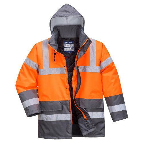 portwest s467 two tone traffic jacket