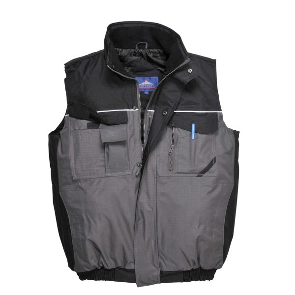 two tone bodywarmer