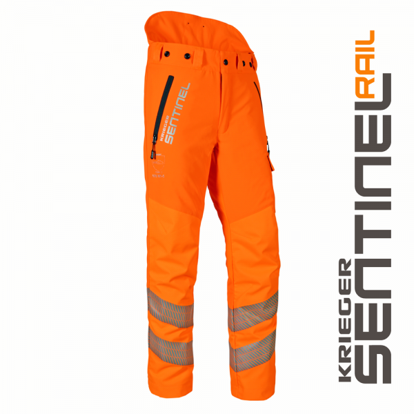 Krieger Sentinel Rail Chainsaw Trousers Class 1 Type C