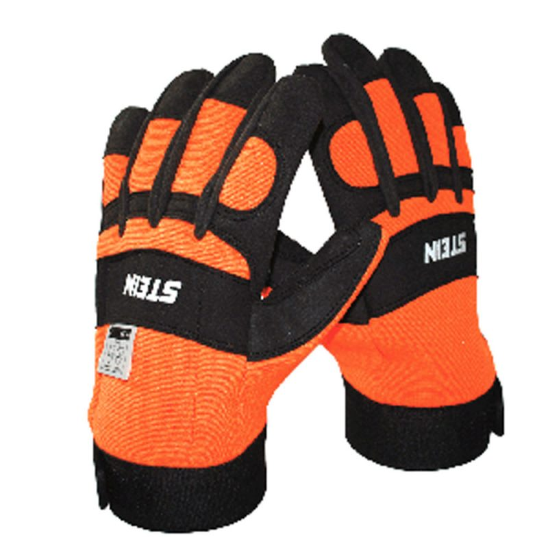 Stein Class 0 Orange & Black Gloves
