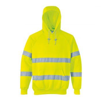 Hi Vis Hooded Sweatshirts