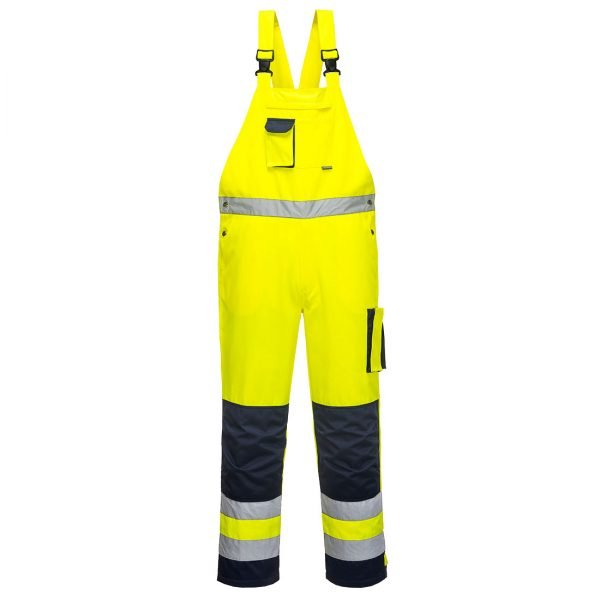 Hi Vis Bib and Brace Overalls