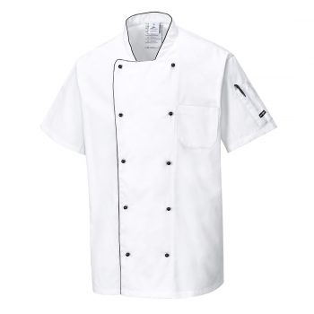 c676 aerated chefs jacket