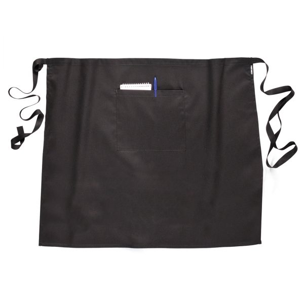 short waist apron