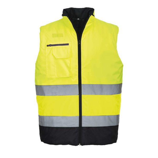 Hi Vis Two Tone Bodywarmer