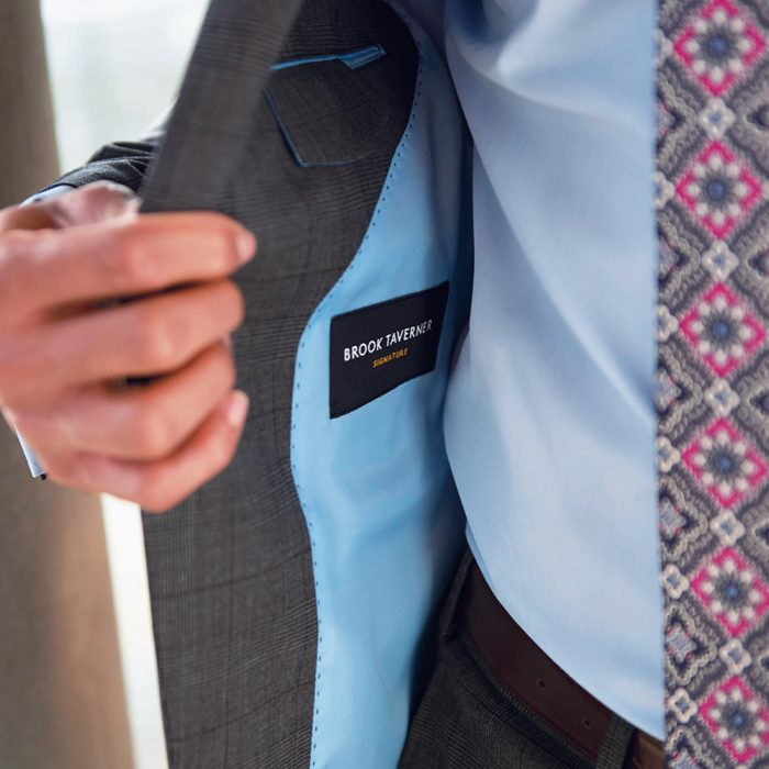Signature Collection jacket lining