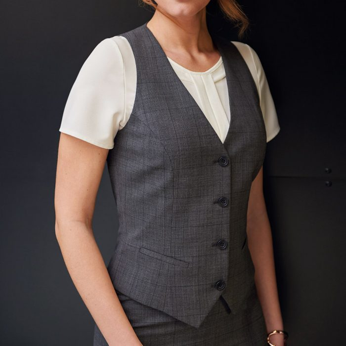 Signature Collection Scapoli Charcoal Waistcoat
