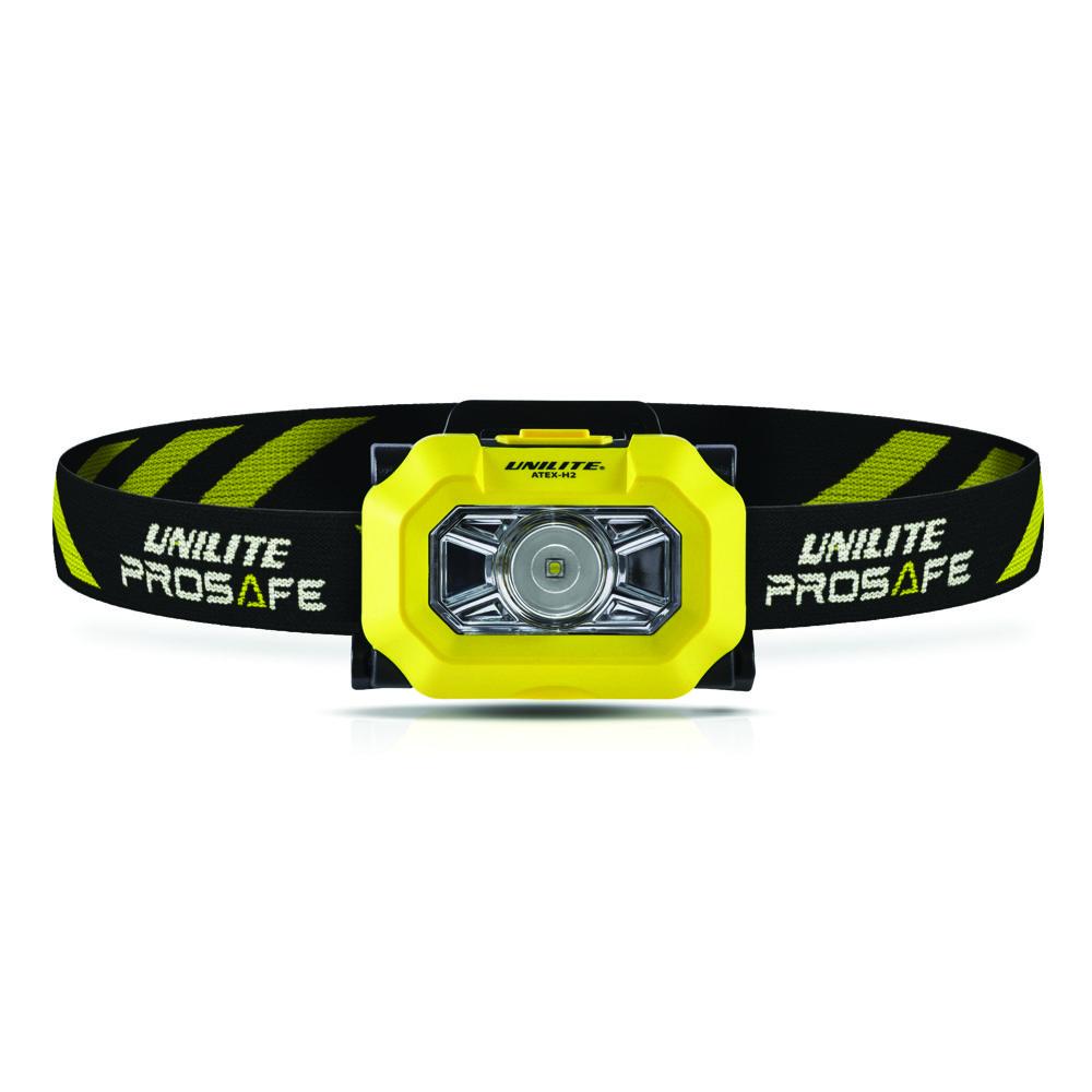 Unilite ATEX-H2 Zone 0 LED Head Torch 225 Lumen