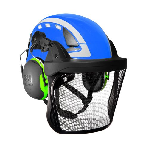 3M X5000 Series Vented Helmet Kit Blue