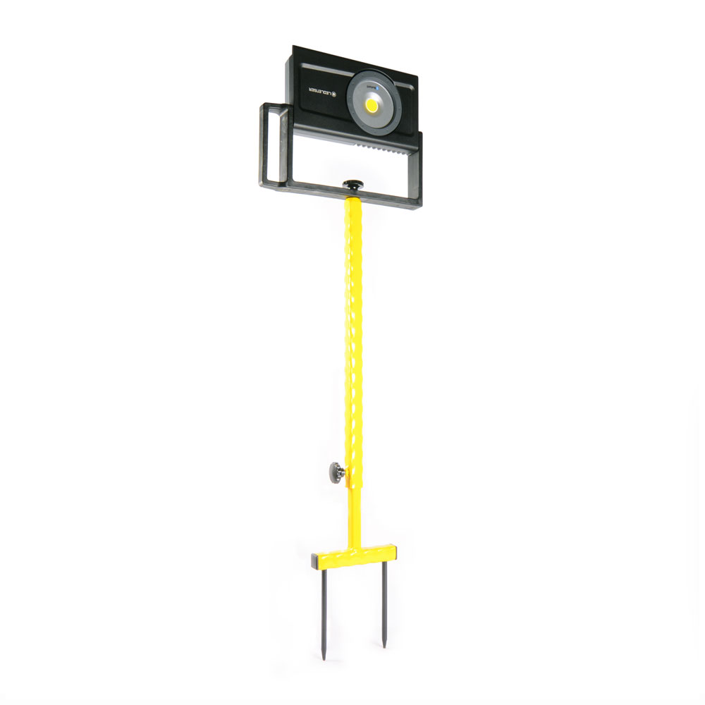 Stein Ground Spike Tripod Stand for Led Lenser iF8R Site Light