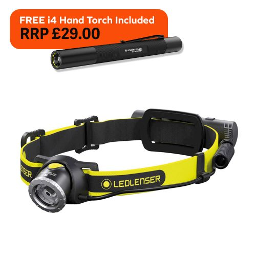 LED Lenser iH8R Rechargeable LED Head Torch 600 Lumen