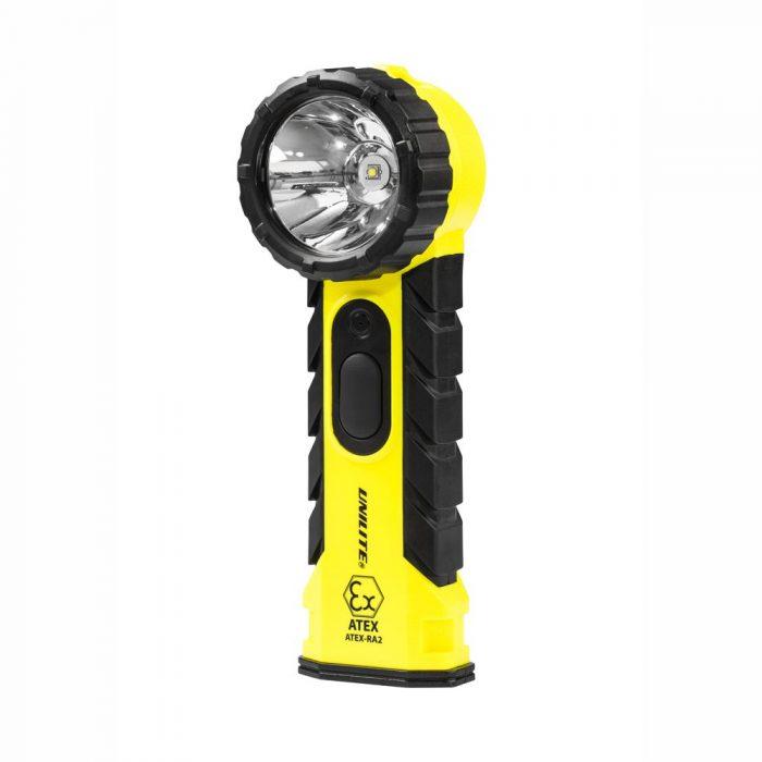 Unilite ATEX-RA2 Zone 0 LED Right Angled Torch 350 Lumen