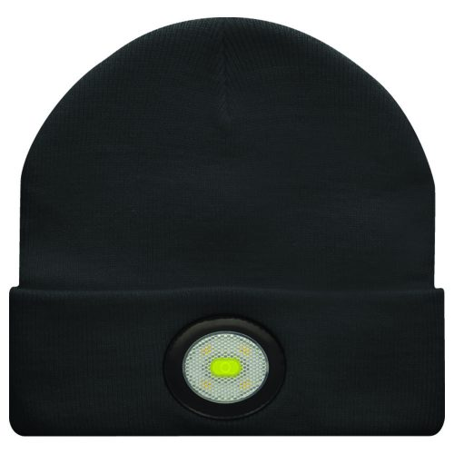 Unilite BE-02+LED Light Black Beanie Hat