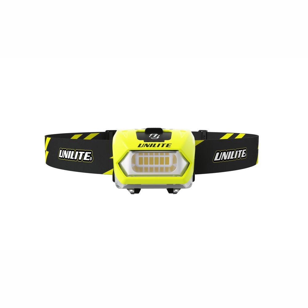 Unilite PS-HDL6R Dual Power LED Head Torch 350 Lumen