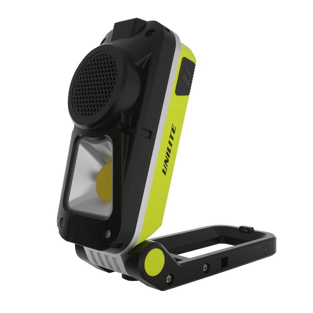 Unilite SP-750 Rechargeable Speaker Work Light 750 Lumen