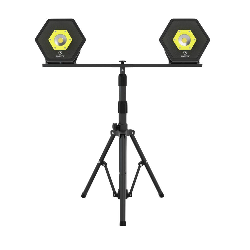 Unilite TRIPOD-DBL Site Light Stand Double Head
