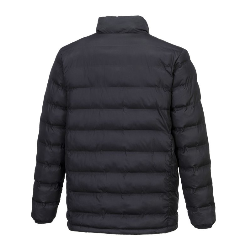 S547 Heated Tunnel Jacket (Black) with integrated carbon fibre heat panels
