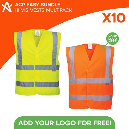 ACP Easy Bundle 10x Hi vis Vests