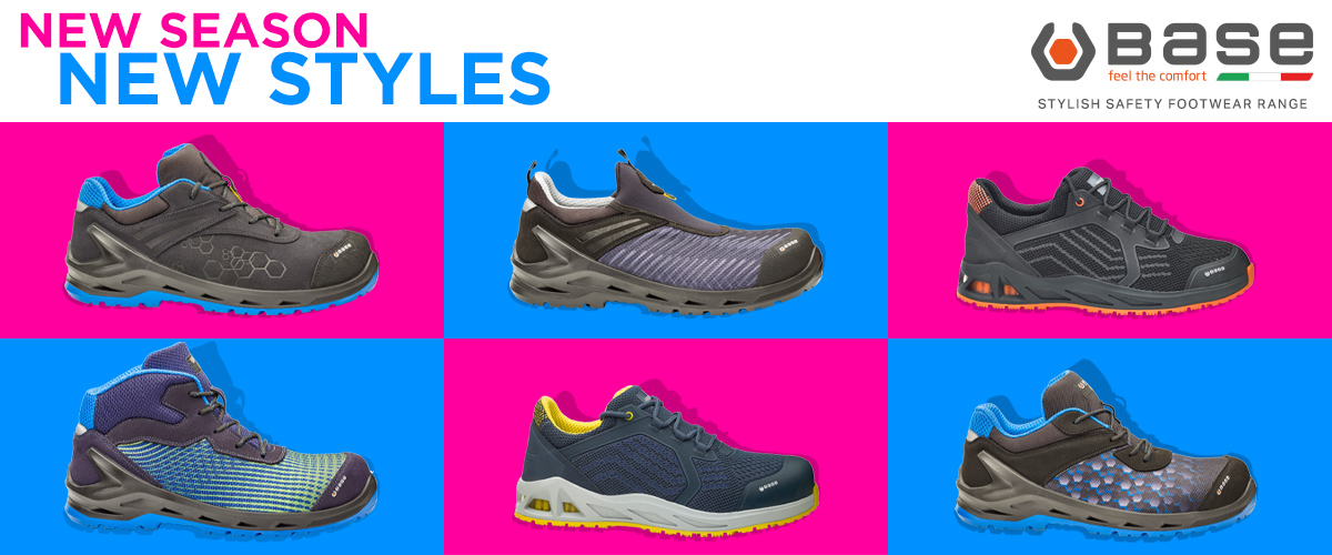 Just Released! BASE safety footwear, new styles