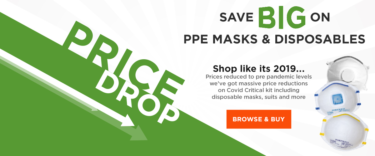 Save Big with our PPE price drop!